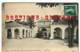 ACHAT IMMEDIAT < Arrivée Du Tramway à La Porte De Thoiras à St Martin - Tram - Treno - Dos Scanné - Strassenbahnen