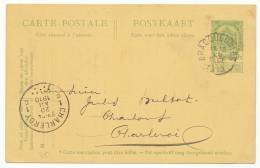 "BELGIUM BELGIË BELGIQUE POSTAL CARD # P 51 ""BRACQUERNIES"" (1910) - Ganzsachen"