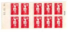 MARIANNE  DE  BRIAT  -  DATE  02/01/96 - Carnets