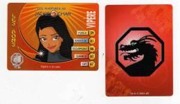 UNE IMAGE DES AVENTURES DE JACKIE CHAN  VIPERE A LA COTE TM 2003 API - Trading Cards