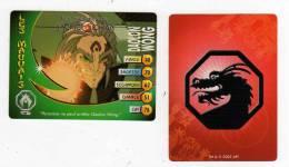 UNE IMAGE DES AVENTURES DE JACKIE CHAN DAOLON WONG PERSONNE NE PEUT ARRETER TM 2003 API - Trading Cards