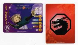UNE IMAGE DES AVENTURES DE JACKIE CHAN DAOLON WONG DETRUISEZ LES TOUS  TM 2003 API - Trading Cards
