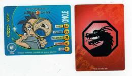 UNE IMAGE DES AVENTURES DE JACKIE CHAN ONCLE Chaque Talisman Possede Un Grand Pouvoir TM 2003 API - Trading Cards