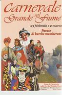 50-Carnevale-carnival- Carnaval 2003-Polesine Parmense-Feste Sulle Rive Del Grande Fiume-cm.7,50 X 11,00 - Carnival