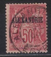 GF385 - ALESSANDRIA ,  Yvert  N. 15  Used - N Sotto U - Alessandria (1899-1931)