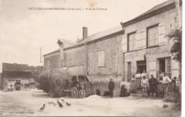 Cpa Saulces Champenoises Rue De L,abbaye - France