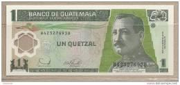 Guatemala - Banconota Non Circolata Da 1 Quetzal - 2006 - Polimero - Guatemala