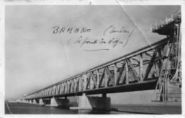 - CPA - SOUDAN - Le Pont Sur Le Niger à Sansanding - Carte Mauvais état, Pliures - 558 - Soudan