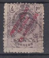 MARRUECOS 1915. EDIFIL Nº  54.ALFONSO XIII.USADO. 4 PTS. MEDALLON  SES201 - Marruecos Español