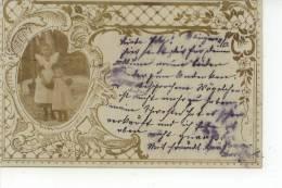 Deux Petites Filles Zwei Kleine Mädchen 1902 - Groupes D'enfants & Familles