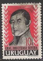 1962 10c Rivera, Used - Uruguay