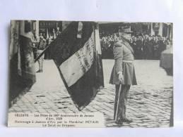 CPA (45) Loiret - ORLEANS - Les Fêtes Du 500 è Anniversaire De Jeanne D'Arc 1929 - Hommage Par Le Maréchal Pétain - Orleans