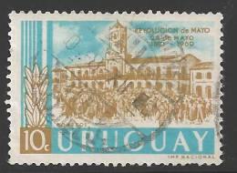 1970 10c Revolutionist, Used - Uruguay