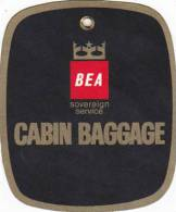 BEA CABIN BAGGAGE AVIATION BAGGAGE TAG - Baggage Labels & Tags