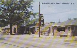 South Carolina Greenwood Greenwood Motor Court - Greenwood