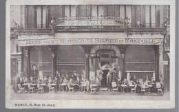 54 - Meurthe Sur Moselle - Nancy - Biére Brasserie De Maxeville - Nancy