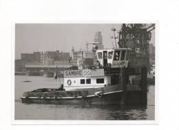 Sleper-duwboot  SAMBRE 1977 Opgelet Echte Foto Geen Kaart Afm. 15 Op 10 - Commerce