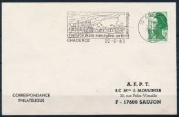 France Frankreich Special Machine Postmark Forest Cheese Fromage Maschinenstempel Käse °BL 0283 - Ernährung