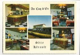 """Cp, Commerce, """"Au Coq D'Or"""" - Restaurant - Sète (34) - Restaurants"""