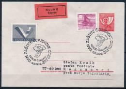 Slovenia Slowenien Cover Express Special Postmark Mushrooms Sonderstempel Pilze °BL 0444 - Pilze