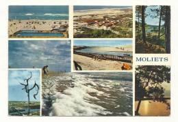 Cp, 40, Moliets, Multi-Vues, Voyagée 1971 - Altri Comuni