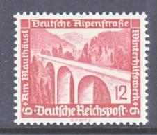 Germany B 98  *  BRIDGE - Unused Stamps