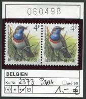 Buzin - Belgien - Belgique - Belgium - Belgie - Michel 2373 Im Paar  - Vögel Oiseaux Birds - Blaukehlchen - ** Mnh Neuf - 1985-.. Birds (Buzin)