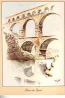 30.-  16 Cartes Du PONT DU GARD - Cartes Postales