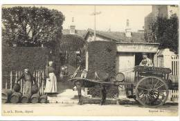 Carte Postale Ancienne Le Havre - Brasserie De Cidre A. Vasse - Alcool, Attelage - Le Havre