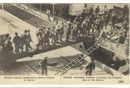 Carte Postale Ancienne Le Havre - Blessés Anglais Regagnant Le Bateau Hôpital - Guerre, Militaires, Santé - Le Havre