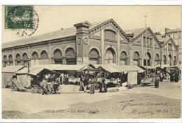 Carte Postale Ancienne Le Havre - Les Halles Centrales - Marché, Commerces - Le Havre