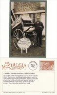 Postcard Miller Builder Hand Cart C1905 Bush Carriage Works London Nostalgia Repro - Professions