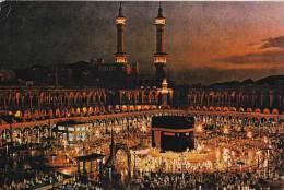 * * HOLY KAABA AT DUSK * *  ( Carte Vierge ) - Arabie Saoudite