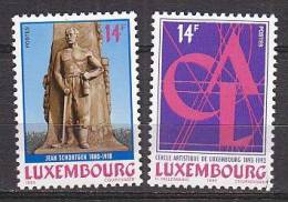 PGL BM1069 - LUXEMBOURG Yv N°1277/78 ** - Unused Stamps