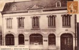 AMBERIEU - Hotel Des Postes  (54787) - Autres Communes