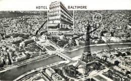 """CPSM FRANCE 75016 """"Paris, Hotel Baltimore, Avenue Kléber"""" - Arrondissement: 16"""