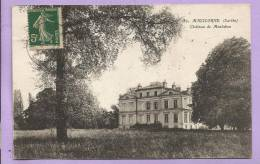 Dépt 72  -  MALICORNE -  Château De Montabon  - Oblitérée - Malicorne Sur Sarthe