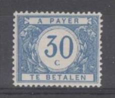 BELGIE - OBP Nr TX 30 - Strafportzegels - Timbres Taxes - MNH** - Cote 10,50 € - Tasse
