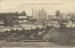 MONTDIDIER, PALAIS DE JUSTICE ET FAUBOURG BECQUEREL. SCAN R/V - Montdidier
