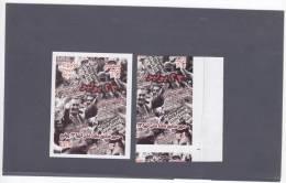 Egypt, Error Souvenir Sheet 2012, Ann Revolution Miscut, + 1 Normal, Extr.RARE Only Few Exist- MNH-SKRILL PAY ONLY - Egypt