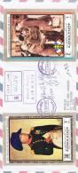 Ajman, Registr.cover Sent To Limoges,franked 2 Large Size De Gaulle & Napoleon Stamps-versdo Date- Scarce - Ajman