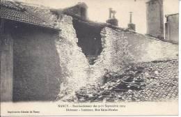 -- 54 -- NANCY -- BOMBARDEMENT DES 9-10 SEPTEMBRE 1914 -- BATIMENT - INTERIEUR ,RUE SAINT NICOLAS - Nancy