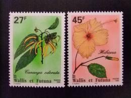 WALLIS ET FUTUNA WALLIS Y FUTUNA 1996 FLORA Yvert & Tellier Nº 489 / 490 ** MNH - Wallis Y Futuna