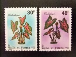 WALLIS ET FUTUNA WALLIS Y FUTUNA 1996 FLORA Yvert & Tellier Nº 493 / 494 ** MNH - Wallis Y Futuna