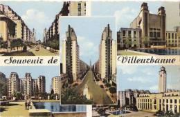 Souvenir De Villeurbanne écrite Tachée - Villeurbanne