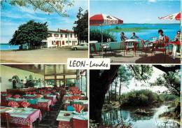 Réf : D.V.13-313 : Lac De Léon  Hôtel Du Lac - France