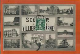 CPA 94, SOUVENIR De VILLIERS-sur-MARNE, MULTI-VUES, MULTICARTE,    AVRIL 2013 005 - Villiers Sur Marne