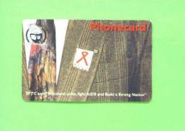 SWAZILAND - Chip Phonecard/Fight AIDS - Swaziland