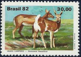 BRAZIL #1803  -  Brazilian Fauna - Deer  - 1982 - Ungebraucht