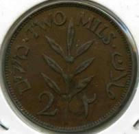 Israel Palestine 2 Mils 1927 KM 2 - Israel